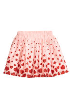 Tulle skirt - Light pink/Heart - Kids | H&M CN 2
