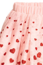 Tulle skirt - Light pink/Heart - Kids | H&M CN 3