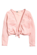 Dance cardigan - Light pink - Kids | H&M 2