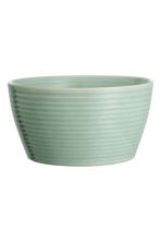 Textured bowl - Dusky green - Home All | H&M CN 1
