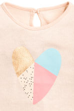 Fine-knit jumper - Powder pink - Kids | H&M CN 2