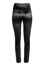 Satin trousers - Black - Ladies | H&M CN 3
