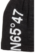 Wool-blend hat - Black - Ladies | H&M 2