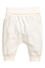 2-pack jersey trousers - White/Bear - Kids | H&M 2