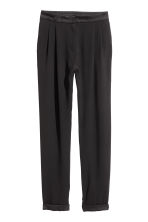 Wide trousers - Black - Ladies | H&M CN 2