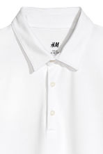 Polo shirt Slim Fit - White - Men | H&M 3