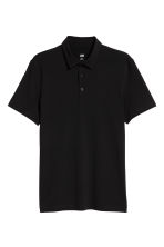 Polo shirt Slim Fit - Black - Men | H&M CA 3
