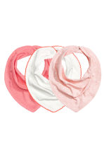 3-pack triangular scarves - Pink - Kids | H&M 1