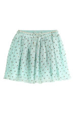 Gonna in tulle glitter - Verde menta - BAMBINO | H&M IT 2