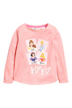 2-pack long-sleeved tops - Light pink/Disney Princesses - Kids | H&M CA 3