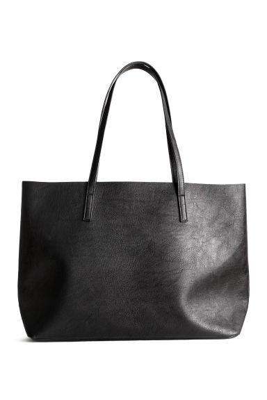 Shopper double-face - Nero - DONNA | H&M IT 1