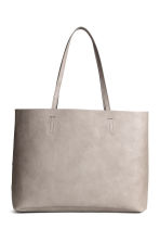 Reversible shopper - Grey beige - Ladies | H&M CA 1