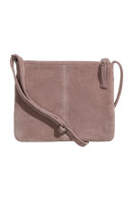 Suede shoulder bag - Dusky purple - Ladies | H&M 1