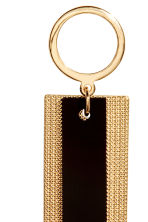 Long earrings - Gold/Black - Ladies | H&M CN 2