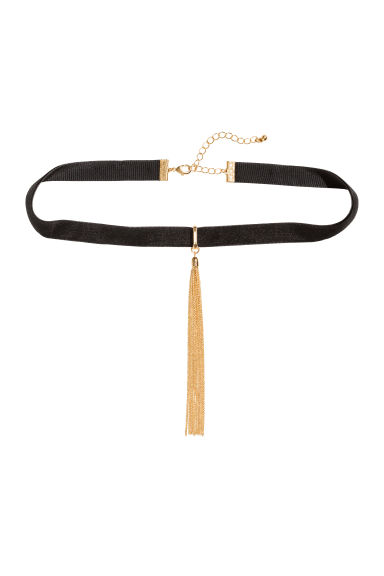 Choker - Black/Gold - Ladies | H&M 1