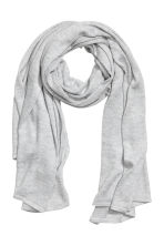 Glittery scarf - Grey/Silver - Ladies | H&M 1