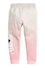 Printed joggers - Light pink/Minnie Mouse - Kids | H&M CN 3