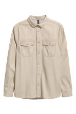 Camicia casual - Beige - UOMO | H&M IT 2