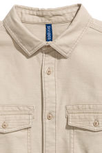 Utility shirt - Beige - Men | H&M CA 4