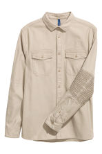 Utility shirt - Beige - Men | H&M CA 3