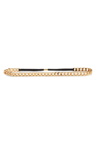 Hairband - Gold - Ladies | H&M 1