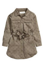 Shirt dress - Khaki green - Kids | H&M CN 2