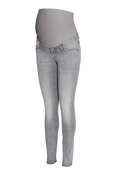 MAMA Skinny Jeans - Grey denim - Ladies | H&M CN