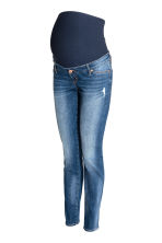 MAMA Skinny Jeans - Denim blue/Washed -  | H&M IE 2