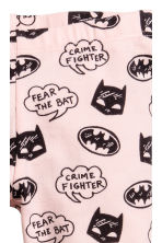 Jersey leggings - Light pink/Batman - Kids | H&M CN 2