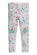 Jersey leggings - Grey/My Little Pony - Kids | H&M CN 1