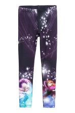Jersey leggings - Dark blue/Frozen - Kids | H&M 2