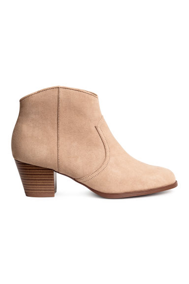 Ankle boots - Beige - Ladies | H&M CN 1