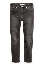 Slim Regular Ankle Jeans - Dark grey denim -  | H&M CA 2