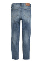 Slim Regular Ankle Jeans - 牛仔蓝 - Ladies | H&M CN 3