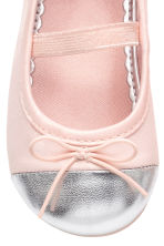Ballet pumps - Light pink -  | H&M 4