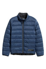 Lightly padded jacket - Dark blue -  | H&M 2