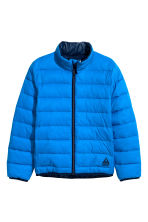 Lightly padded jacket - Cornflower blue - Kids | H&M CN 2