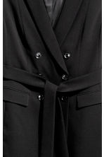 H&M+ Long sleeveless jacket - Black - Ladies | H&M 3