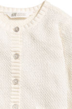 Cotton cardigan - Natural white - Kids | H&M 3
