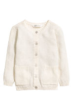 Cotton cardigan - Natural white - Kids | H&M 2