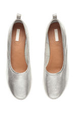 Low court shoes - Silver - Ladies | H&M 2
