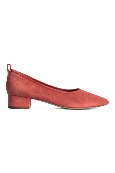 Low court shoes - Rust red - Ladies | H&M