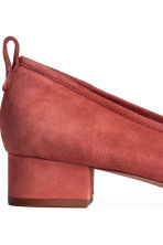 Low court shoes - Rust red - Ladies | H&M 4