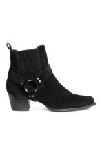 Suede boots - Black - Ladies | H&M 2