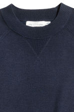 Fine-knit top - Dark blue -  | H&M 3