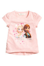 Lot de 2 tops en jersey - Blanc/La Reine des Neiges - ENFANT | H&M FR 3