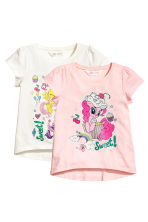 2-pack jersey tops - Light pink/My Little Pony - Kids | H&M 2