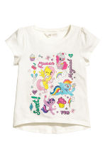 Top in jersey, 2 pz - Rosa chiaro/My Little Pony - BAMBINO | H&M IT 3