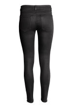 Lyocell-blend biker trousers  - Black - Ladies | H&M CN 3
