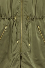 Long bomber jacket - Khaki green - Ladies | H&M 3